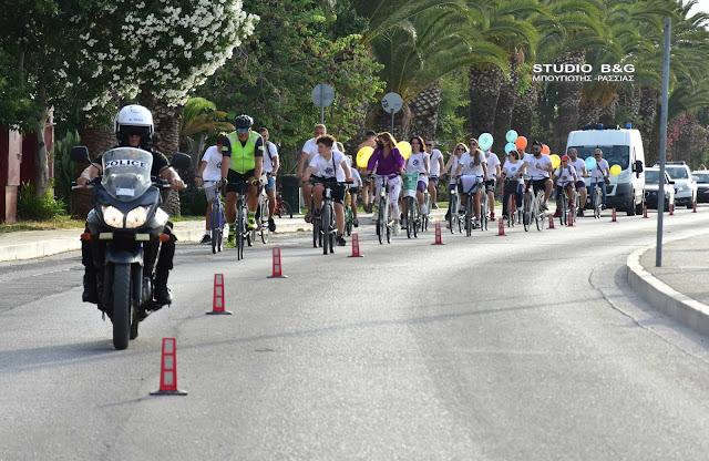 Ποδηλάτες έστειλαν μήνυμα κατά των ναρκωτικών από το Ναύπλιο