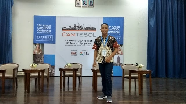 Bpk. Dedy Subandowo attended the CamTESOL Conference in Phnom Pehn, Cambodia 15 February 2019