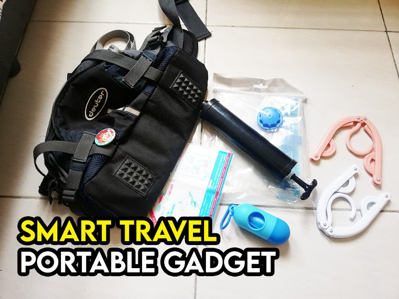 Alatan Portable Smart Travel yang Berguna Ketika Travel