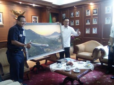 Empat Jalur Kereta Api Non Operasional di Jawa Barat Segera Direaktivasi