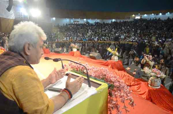 union minister of state for railways manoj sinha inaugurated the annual general meeting of indian railways goods godown employees union bharatiya railway