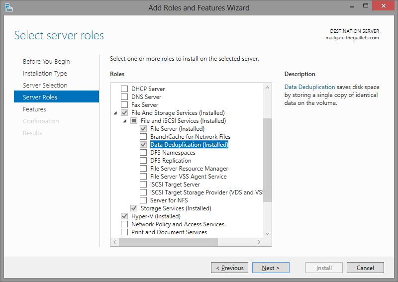 The EXPTA {blog}: Windows Server 2012 Deduplication is Amazing!