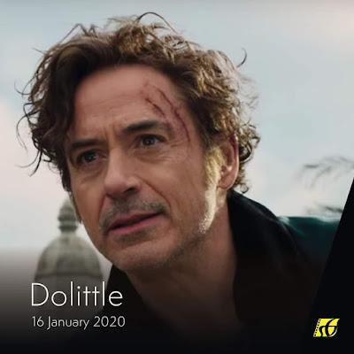 Senarai Filem Yang Akan Keluar di Panggung Wayang Tahun 2020 - Dolittle (2020)