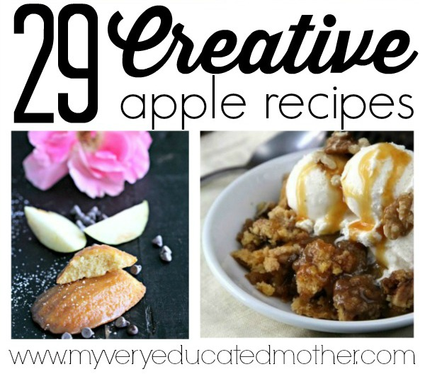 29 Must Try Apple Recipes
