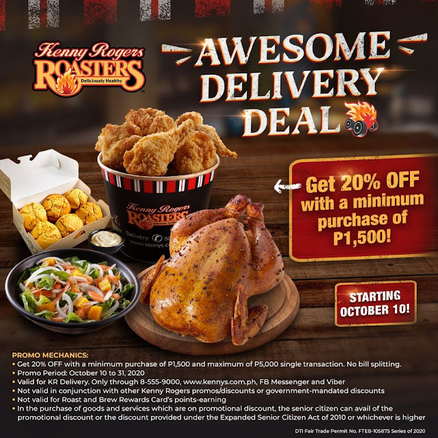 Manila Shopper: Kenny Rogers Awesome Oct 2020 Promos