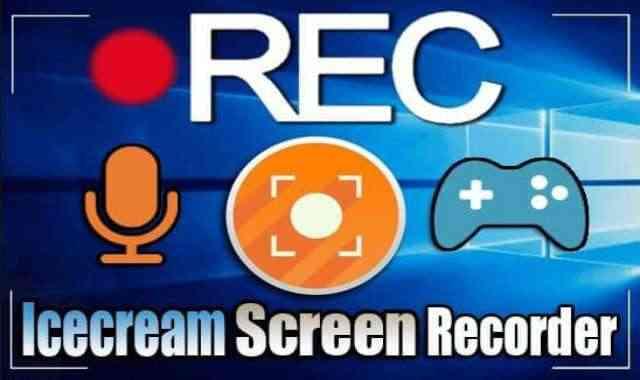 تحميل وتفعيل IceCream Screen Recorder Pro برنامج تصوير سطح المكتب والالعاب بجودة عالية