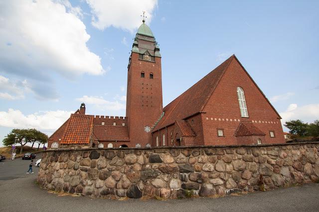 Chiesa Masthuggskyrkan-Fuori Goteborg