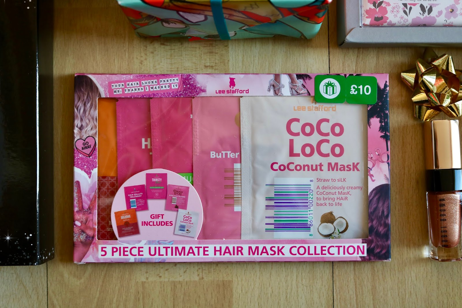 LEE STAFFORD ULTIMATE HAIR MASK COLLECTION £10