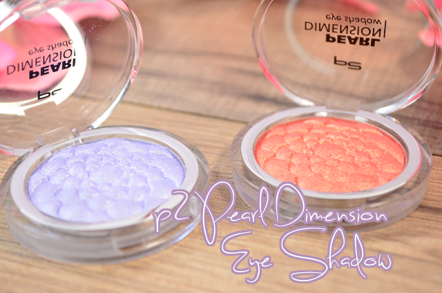 Review p2 Pearl Dimension Eye Shadow