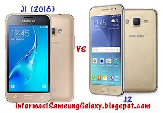 Samsung Galaxy J1 (2016) vs J2 Harga dan Spesifikasi