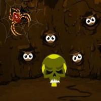 Big Halloween Spider Cave Escape