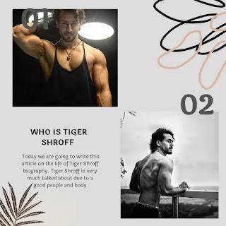 Tiger Shroff biography in English