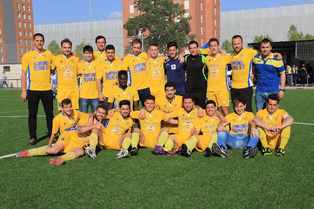 El Club de Fútbol Zuazo, campeón de Segunda Regional