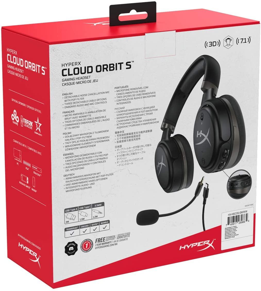 HyperX Cloud Orbit S Gaming Headsets