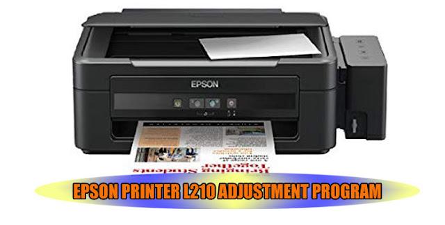 EPSON L210 PRINTER ADJUSTMENT PROGRAM