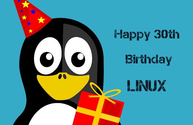 Happy 30th Birthday Linux!