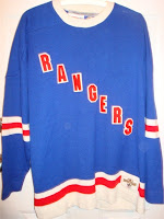 NHL CCM Heritage Jersey Collection - New York Rangers Circa 1927