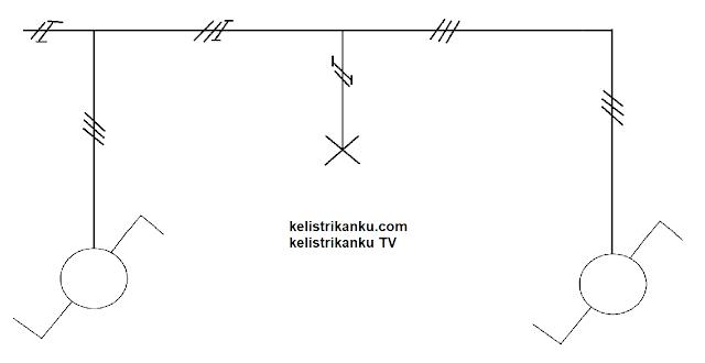 Cara memasang Saklar tukar / hotel pada lampu