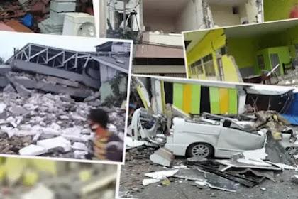 Gempa dahsyat di Sulawesi Indonesia menewaskan puluhan dan melukai ratusan orang