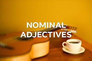 What Are Nominal Adjectives?