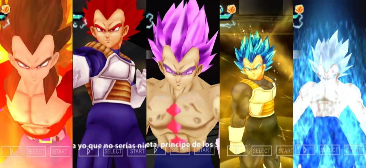 Dragon Ball Super Vegeta Hakaishin all Forms
