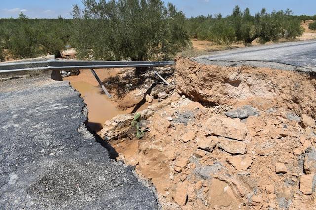 معاينة الأضرار المادية الناتجة عن الفيضانات بمعتمدية بومرداس (صور)
