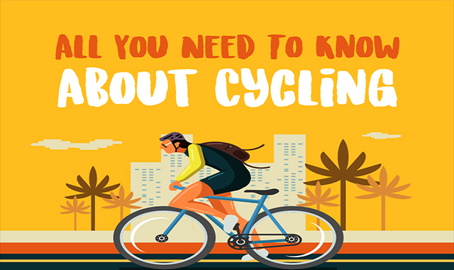 You need to know everything about cycling #infographic