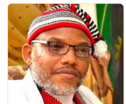 why Nnamdi kanu is not present in court today  .