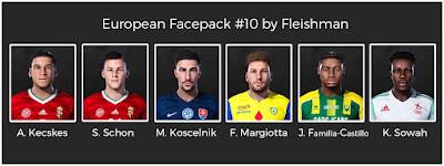 PES 2021 European Facepack #10 by Fleishman