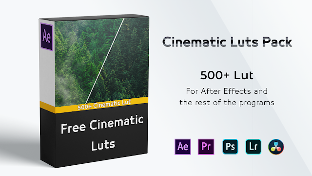 LUTs color grading pack free download ,free cinematic lut pack ,Free LUT for Photoshop ,Download Free Premiere LUTs