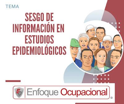 Sesgo de Información, Estudios Epidemiológicos