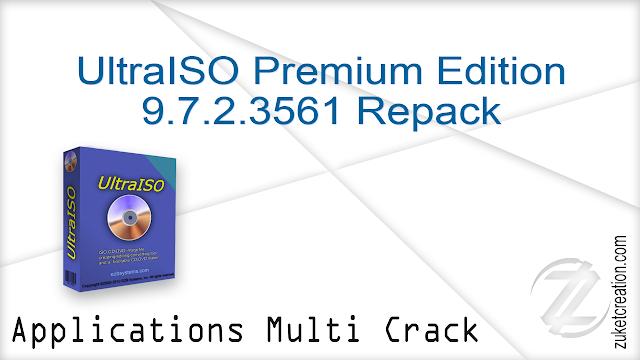 UltraISO Premium Edition 9.7.2.3561 Repack