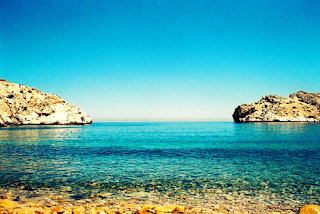 اللون الأزرق السماء والبحر