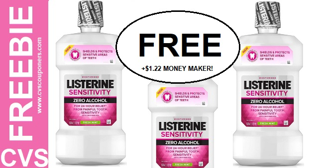 FREE Listerine Mouthwash at CVS  5/26-6/1