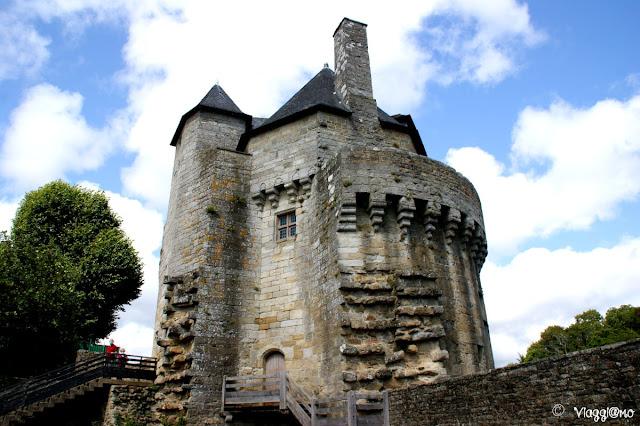 La Torre de Connétable è la torre più alta della cinta muraria di Vannes
