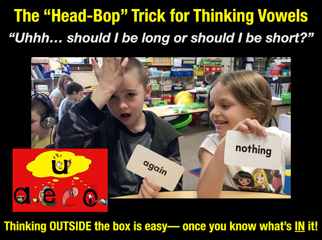 "Secret Stories® Phonics— ""Head-Bop"" Trick for Fickle Vowels/ Easy Sight Word Reading"