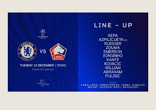 Rudiger in starting XI to face Lille