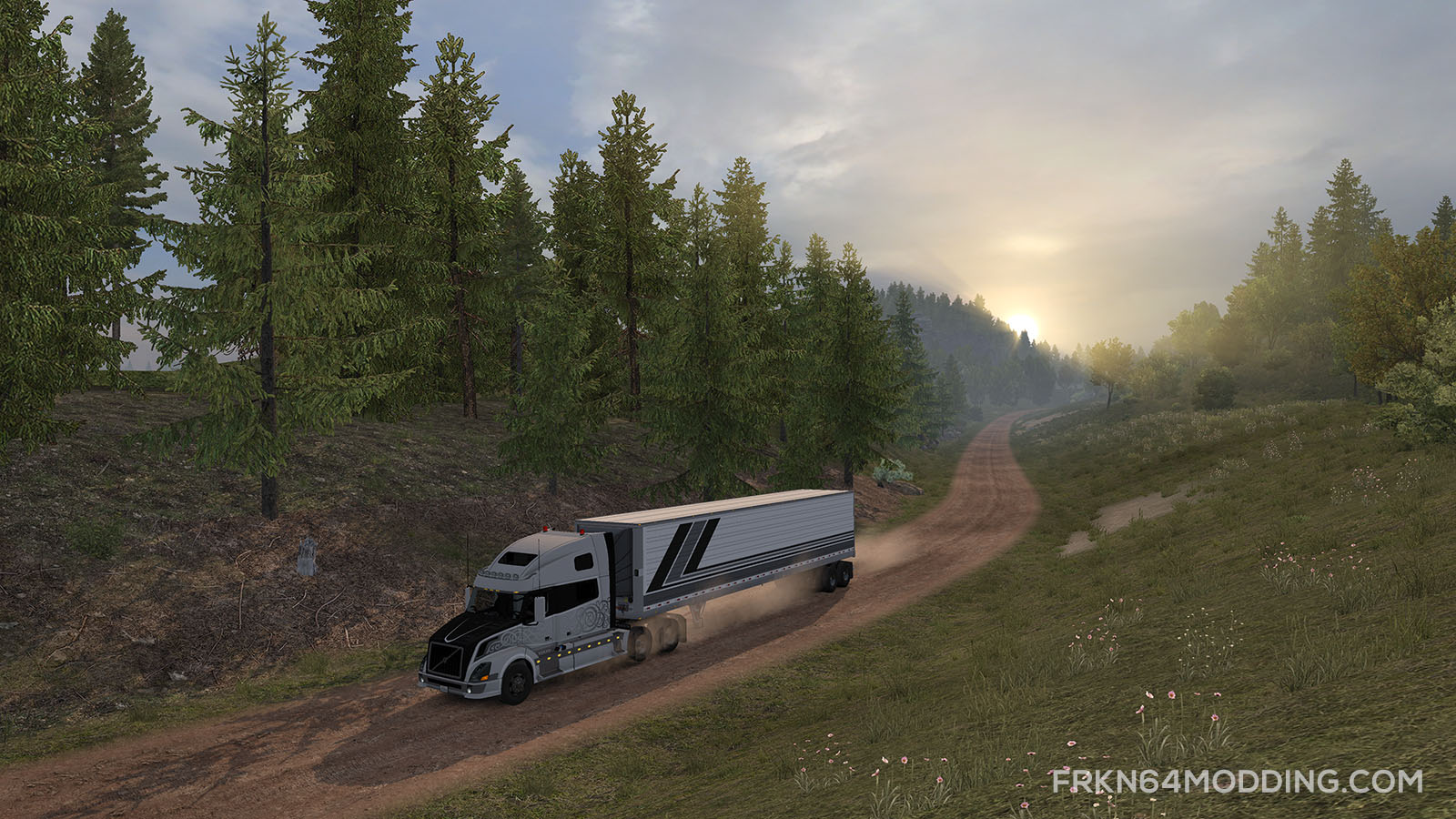 ATS - Realistic Graphics Mod v3 0 by Frkn64 | Sinagrit Baba's Workshop
