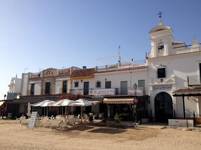un paseo por la aldea de El Rocío