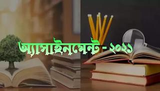 ৬ষ্ঠ - ৯ম শ্রেণি অ্যাসাইনমেন্ট ২০২১ (Assignment 2021) এর সকল সমাধান - জাহান বাংলা