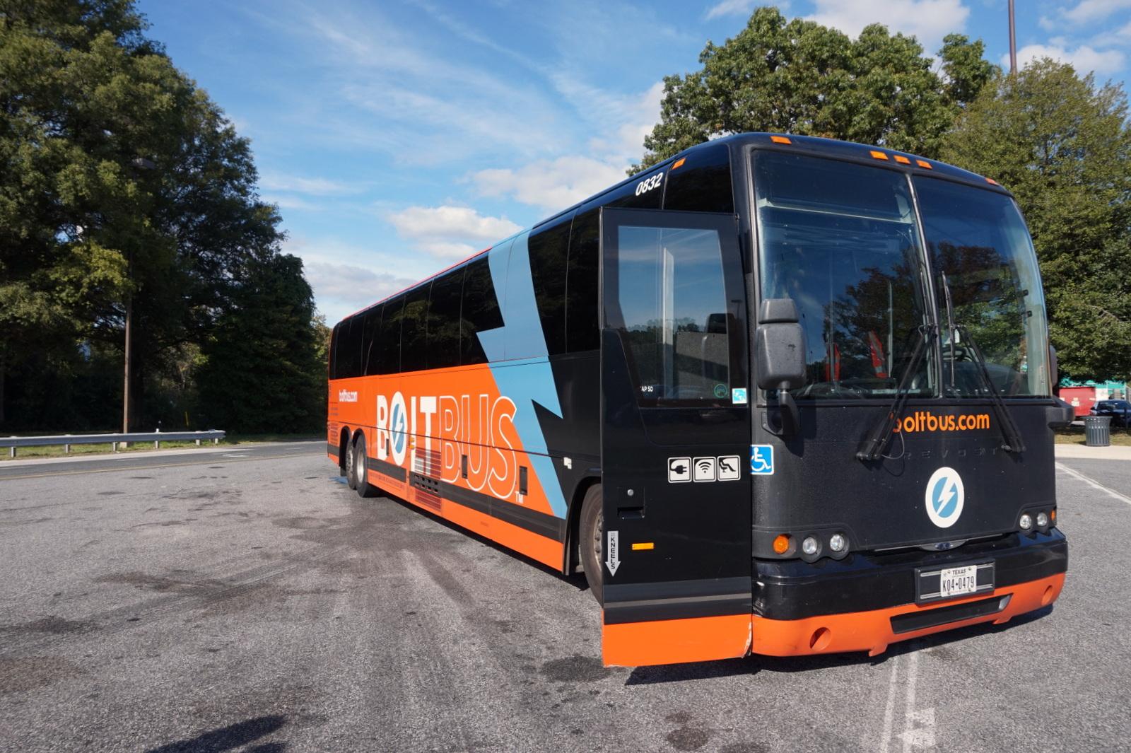 109ac9a8b59 Busse DC-sse ja mujalegi väljub mitmest kohast, meie valisime Boltbusi  mille üks bussipeatusi asub 33 str ja 11 Avenue nurgal Bussijaamu kui  selliseid seal ...