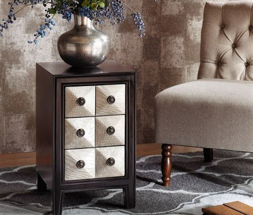 chairside chest table