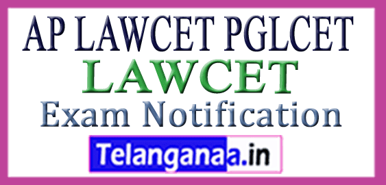 AP LAWCET PGLCET Entrance Exam Notification