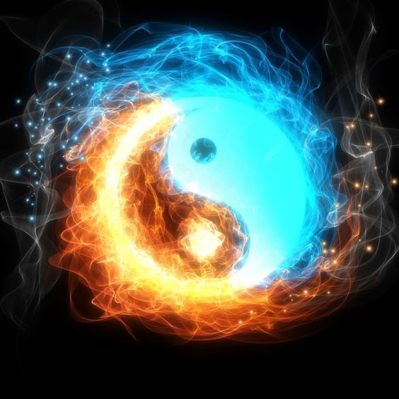 occult ying yang photos, esoteric tantra photos, magical mystical clipart