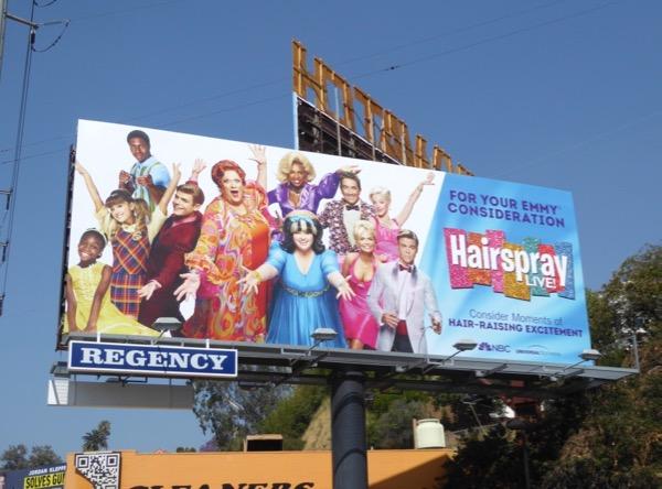 Hairspray Live 2017 Emmy FYC billboard