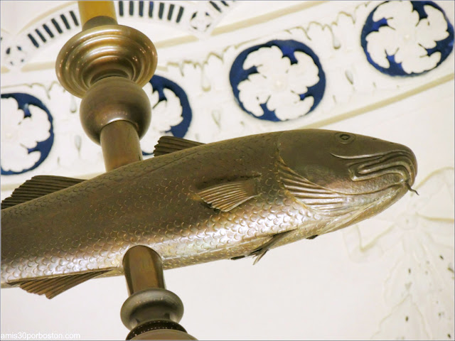 Holy Mackerel en la Cámara del Senado del Massachusetts State House
