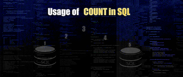 How to use COUNT in SQL