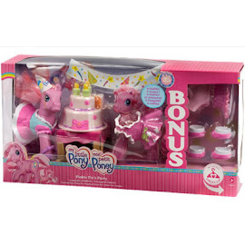 MLP Pinkie Pie Accessory Playsets Pinkie Pie's Party Bonus G3 Pony