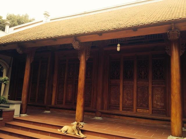 nhà gỗ 5 gian cổ truyền thống