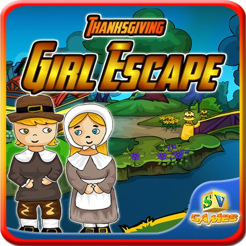Play SiviGames Thanksgiving Girl Escape